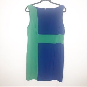 Adrianna Papell Color Block Dress Size 14